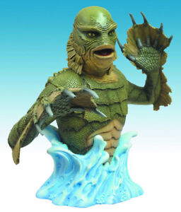 Creature From The Black Lagoon bust bank.