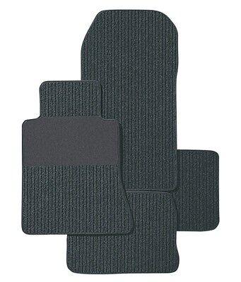 Fußmatten für Mercedes CLS C257 in Rips anthrazit mit Trittschutz