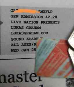 Lukas Graham Tickets x2 Toronto Sound academy (now rebel)