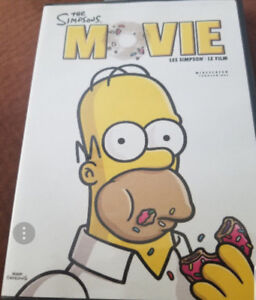 The Simpsons The Movie dvd