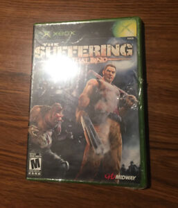 New (Sealed in package) Xbox The Suffering Ties That Bind Game