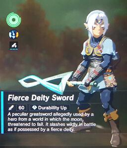 Zelda: Breath of the Wild Fierce Deity Set(Majora's Mask Amiibo)