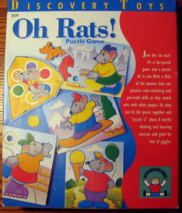 Discovery Toys: Oh Rats (Preschool Puzzle Game)