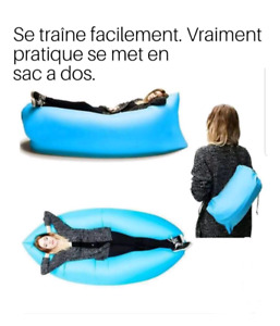 Lit gonflable inflatable bed