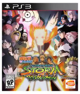 Naruto ultimate Ninja storm revolution PS3