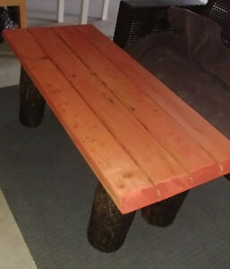Reclaimed Coffee Table and Side Table... Or benches!