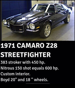 1971 CAMARO Z28 STREET FIGHTER