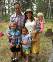 Full Time Nanny Required in Sackville, NB with apartment!