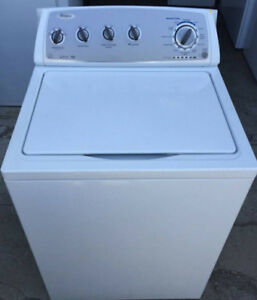 Whirlpool large capacity 4.2 cf washer, 12 month warranty