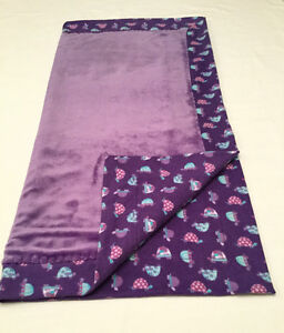 BLANKETS FOR GIRLS - flannel with minkee