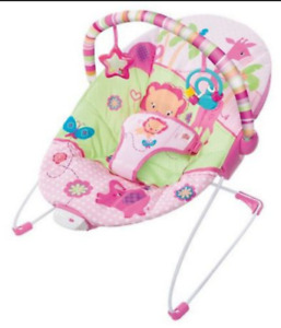 Bright Starts Pink Baby Chair