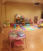 Childcare / Home Daycare in Markham (hwy 7 and 9th line)