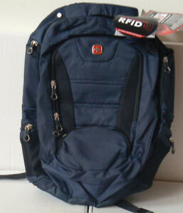 Swiss Gear 15.6inch  Laptop Backpack - Navy (swa2303 88) GENUINE