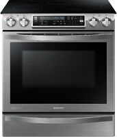 Cuisinière Induction 5,8 pi³ Stainless Samsung NE58H9970WS