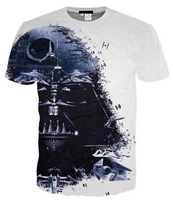Star Wars Darth Vader 3D print women/men Short Sleeve T-Shirt Casual Tops S-5XL