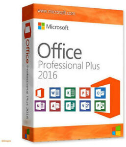 MICROSOFT OFFICE PROFESSIONAL 2016+ LICENSE ( FOR 1 PC)