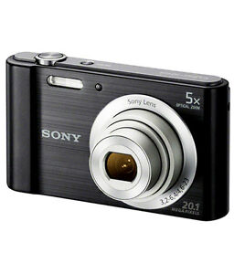 Sony DSC W800 camera with 16gb sd card