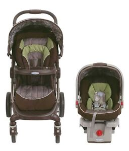 Graco stroller with car seat