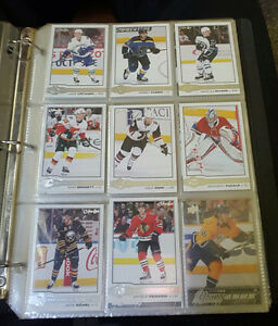 Upper deck young guns, OPC rookies and autograph Hockey cards