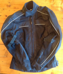 Like new!! Ladies Natural Riders Motorcycle Jacket