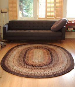 Beautiful Handwoven And Braided Rug