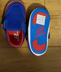 New Sketchers shoes 6-9 months boy
