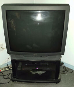 TV with stand - excellent working condition