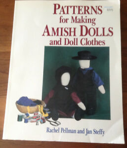 Patterns 4 Making Amish Dolls & Doll Clothes, Pellman & Steffy