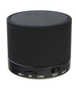 Mini Bluetooth portable speaker wireless *never used* + charger