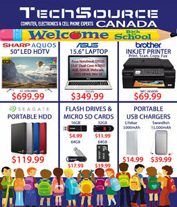 TechCity Canads's Back to School BLOWOUT SALE!! BEST PRICES!!