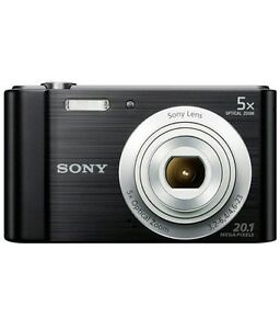 Price drop.Sony Cyber-shot W800 20.4MP 5x Opt. Zoom Black