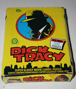 1991 O-Pee-Chee Dick Tracy Movie 36 CT Unopened Wax Boxes