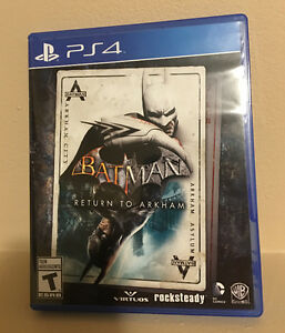 Batman: Return to Arkham Collection for PS4 (Mint Condition)