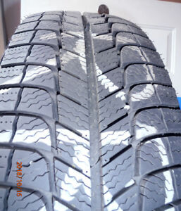 MICHELIN X-ICE 225/60R16 WINTER TIRES***PNEUS D'HIVER MICHELIN
