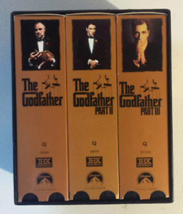The Godfather Collection on VHS