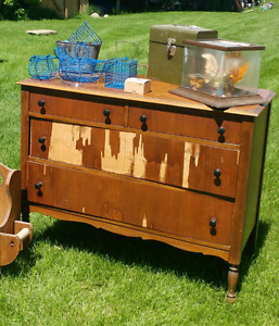 Antique dresser for project