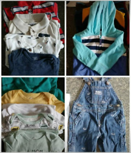 6 to 9 months old boy clothes