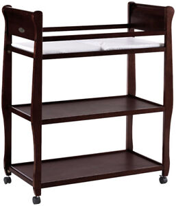 Graco Changing Table (Dark Walnut) - Mint condition - $50