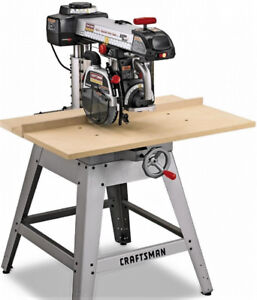 "Craftsman 10"" Radial Arm Saw with LaserTrac"