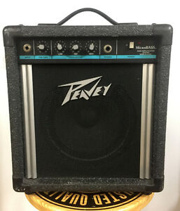Used Peavey bass amp at Mingo Music