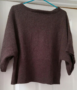 Soft Brown Wool Sweater. Size 2x