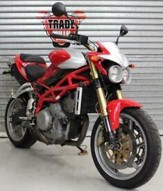 2005 56 MOTO MORINI CORSARO 1200 RED HPI CLEAR 6400 MILES NEW MOT RARE CLASSIC