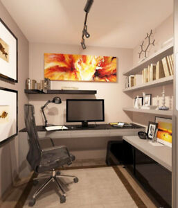 Very small office space. Very small price