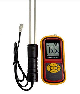 Digital Rice Corn Paddy Wheat Grain Moisture Humidity Meter Tester Gauge New