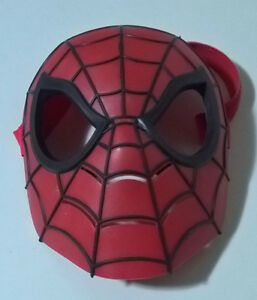Marvel Spiderman Toy Mask Hard Plastic