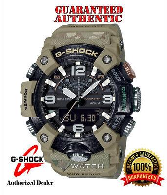 Casio G-Shock GGB100BA-1A MUDMASTER Special Edition British Army CAMO Tan Watch