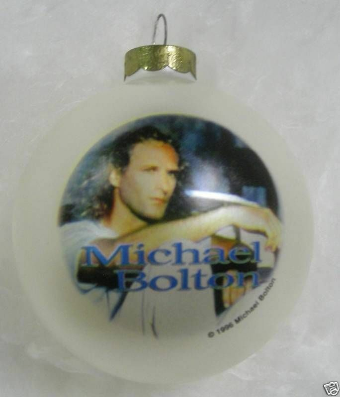 MICHAEL BOLTON Ornament 1996  Collectible Limited Edition New os