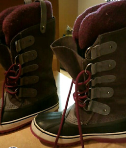 Sorel winter boots size 8 $120