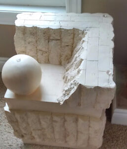 Unique and beautiful Fossil Stone End table. Kitchener / Waterloo Kitchener Area image 2