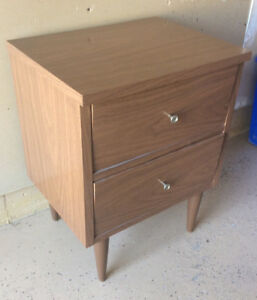 Small two drawer bedside cabinet $10.00